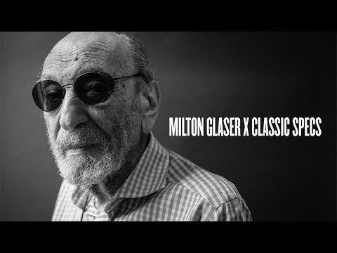e269b988d4d Classic Specs X Milton Glaser - YouTube
