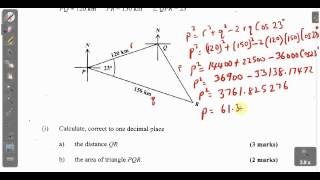 csec cxc maths past paper 2 question 10b january 2014 exam solutions act math sat math