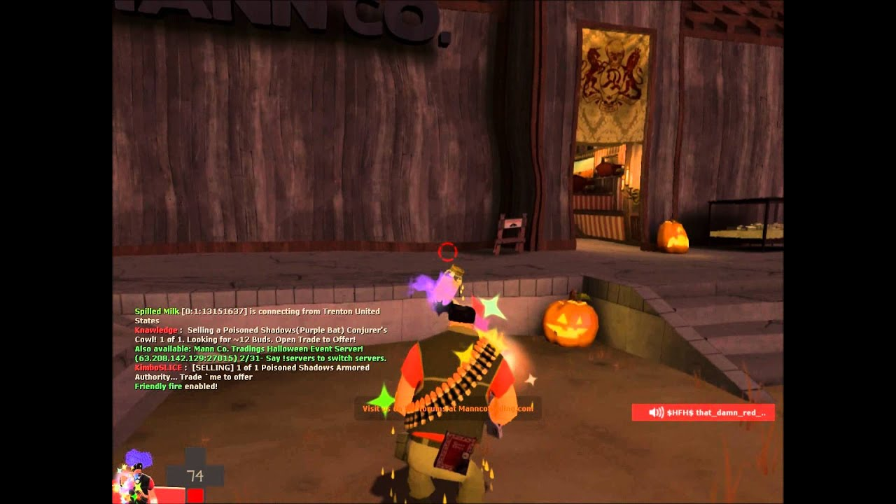 TF2 - Fireproof Diary Gameplay (Halloween Update!) - YouTube