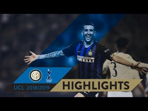 INTER 2-1 TOTTENHAM | HIGHLIGHTS | Matchday 01 - UEFA Champions League  2018/19