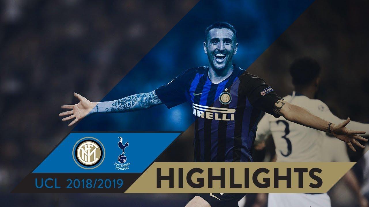 Download INTER 2-1 TOTTENHAM | HIGHLIGHTS | Matchday 01 - UEFA Champions League  2018/19