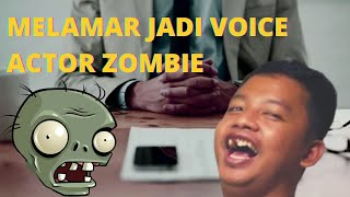 Dustin melamar jadi voice actor Plants Vs Zombie