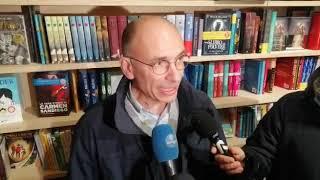 Enrico Letta alle Vecchie Segherie Mastrototaro