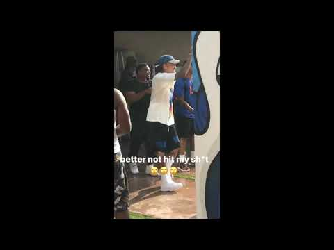 Chris Brown - Post and Delete video | Pool Party | Instagram Videos