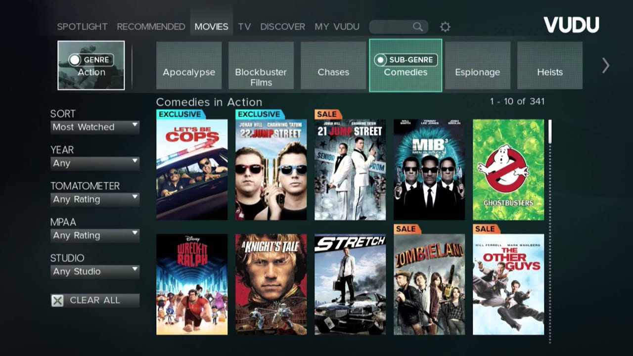 Introducing the new VUDU for home