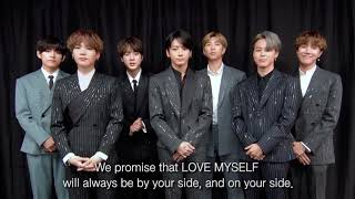 BTS (방탄소년단) LOVE MYSELF Campaign 2nd Anniversary Message