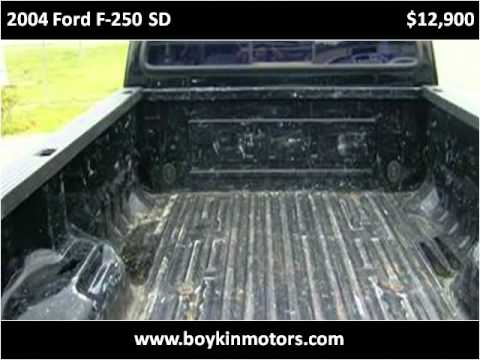 2004 Ford F 250 Sd Used Cars Smithfield Nc Youtube