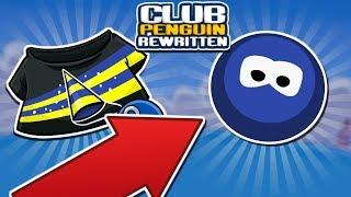 RARE BETA OLD BLUE CODE AND T-SHIRT CODE  (Club Penguin Rewritten)