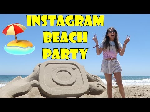 Instagram Beach Party 🏖️ (WK 338.7) | Bratayley