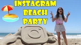 Instagram Beach Party 🏖️ (WK 338.7) | Bratayley