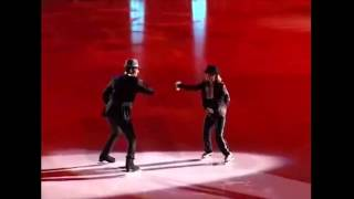 Irina Milana & Ivan Righini Style of Michael Jackson on ice.