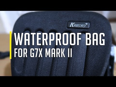 Waterproof Bag for G7x Mark II  |  [Krisyo WSM HY-36]