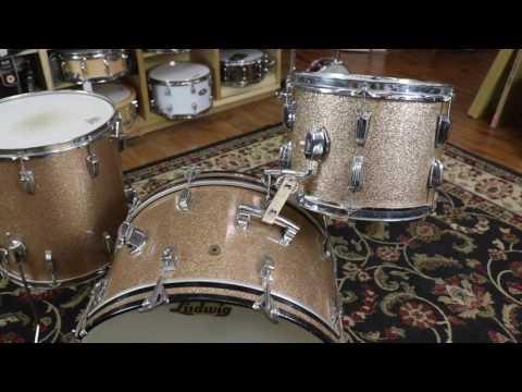 Columbus Percussion Vintage Corner: 1960s Ludwig Champagne Sparkle