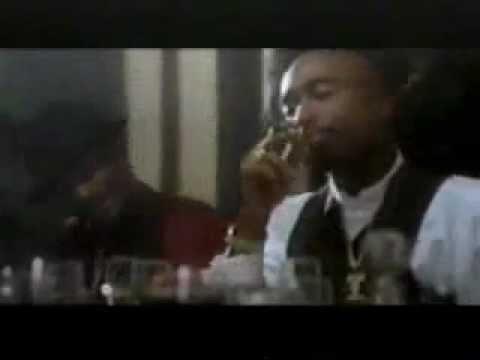 2pac - Gangsta Party ( feat Snoop dog ) + Lyrics ( Original Video )