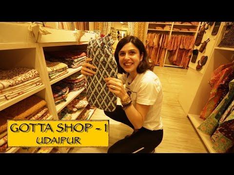 Gotta Shop    Part 1    Udaipur