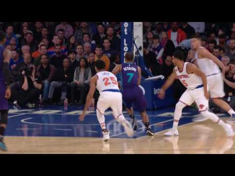 "Ramon Sessions Says ""Clear Out!"" Big Dunk Down The Lane 
