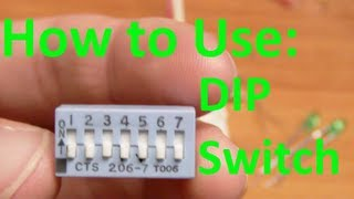5imple Circuits: How to use a DIP switch