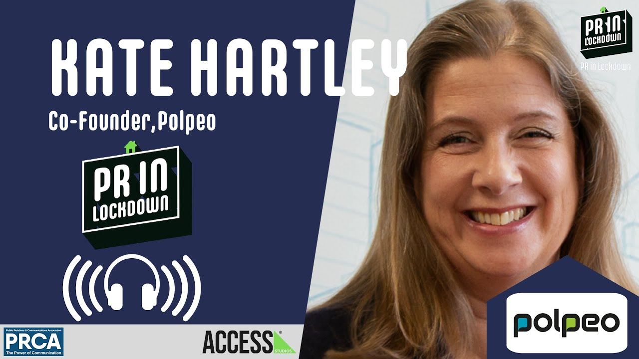 "The biggest thing is the spread of misinformation"" - Kate Hartley, Co-founder of Polpeo"