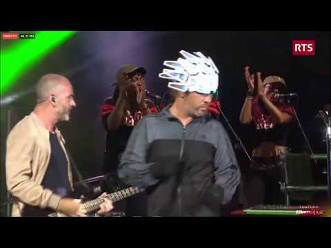 Jamiroquai - White Knuckle Ride / Cosmic Girl (Paléo Festival, Nyon 2017)