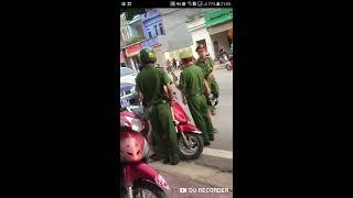 Thanh niên cứng đánh nhau với cscd