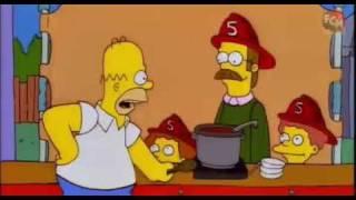 Los Simpson : Homero y el Chile ( Aji )