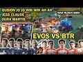 DUEL STRATEGI TERGILA  EVOS VS BTR  EVOS DIKASI 3 HERO OVERPOWER  AMAZING GAMEPLAY