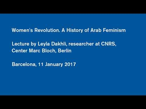 #AulaMed: Women's Revolution. A History of Arab Feminism - L