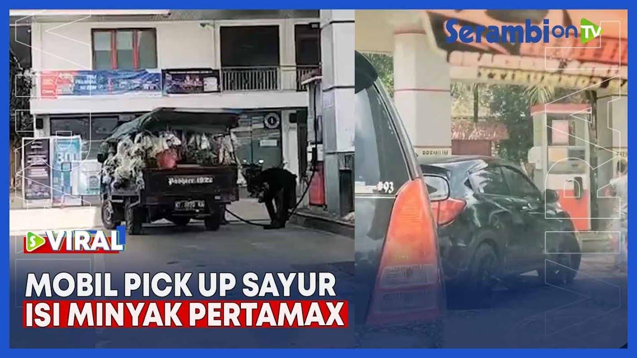 Video Hilang Harga Diri Mobil Mewah Antre Isi Premium Mobil Pick Up Sayur Isi Pertamax Serambi Indonesia