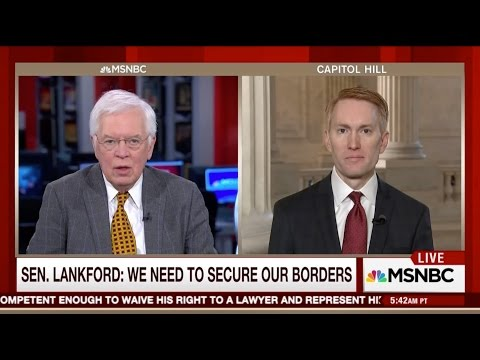 Senator Lankford Discusses Border Security & the Trump Administration on Morning Joe