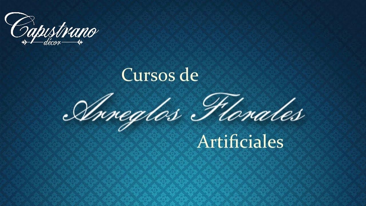 Cursos Arreglos Florales Artificiales Colocacion De Plantas Y Flores
