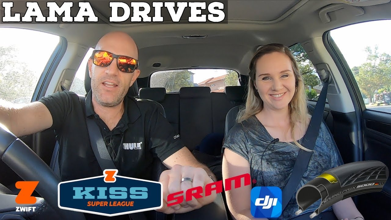 LAMA DRIVES: Bike Rides // 12spd SRAM E-Tap // All things Zwift // Dji Osmo  Pocket
