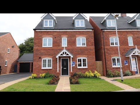 Bovis Homes - The Chelford @  St Mary's Gate, Stafford, Staffordshire, by Showhomesonline