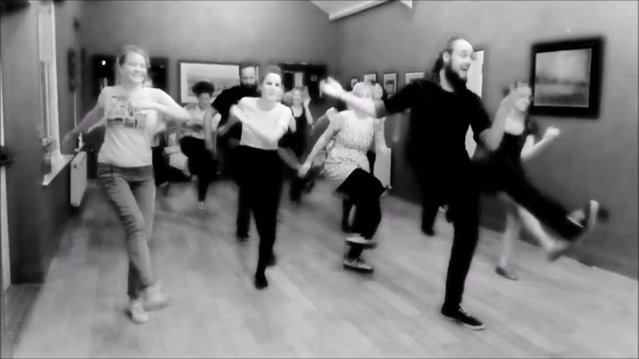 Solo Jazz and Charleston Class Demo at Swing Dance Cork