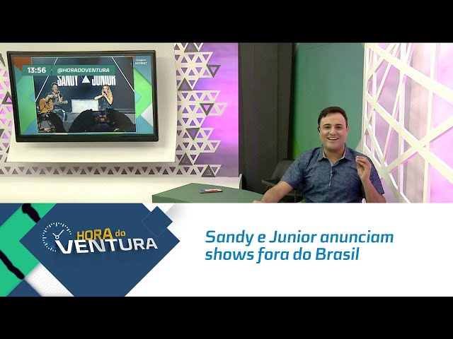 Sandy e Junior anunciam shows fora do Brasil! - Bloco 01