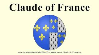 Claude of France