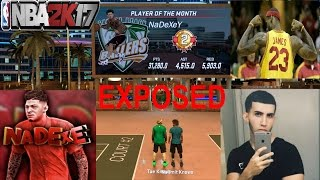 nadexe gets dropped off  nba 2k17 the king of sunset exposed