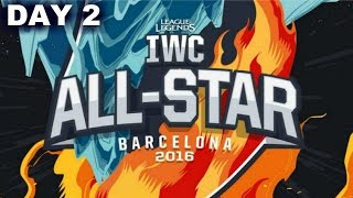 IWC All-Stars Barcelona 2016 Day 2 - ASSASSIN MODE MATCHES | LoL eSports IWC 2016