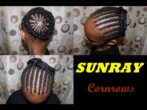 how-to-cornrow-halo-braids-natural-hair-hairstyle