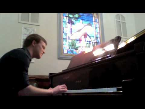 Relient K - Deathbed (Piano and Vocal Cover) - With Lyrics