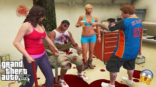 GTA 5 - DON'T Meet Michael's Family After The SCARY RITUAL at Michael's House