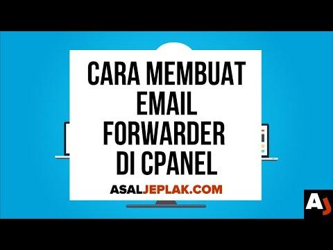 Cara membuat email forwarder di cPanel | Seri Belajar Web
