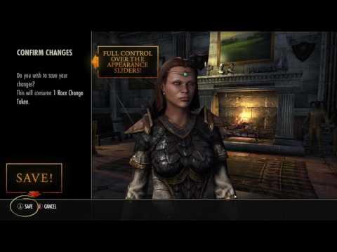 The Elder Scrolls Online — изменение внешности