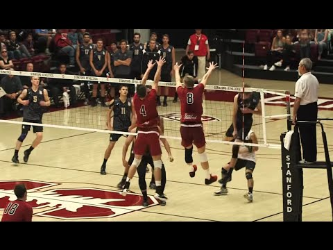 Stanford vs Long Beach State HIGHLIGHTS (Men's Volleyball)