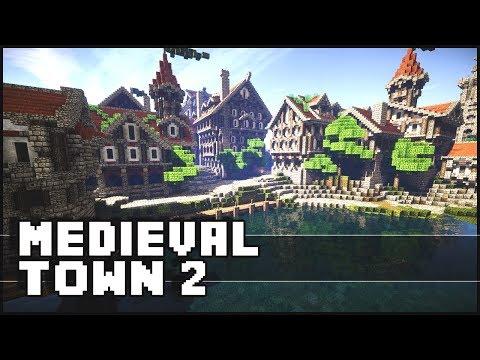 Minecraft - Medieval Town 2