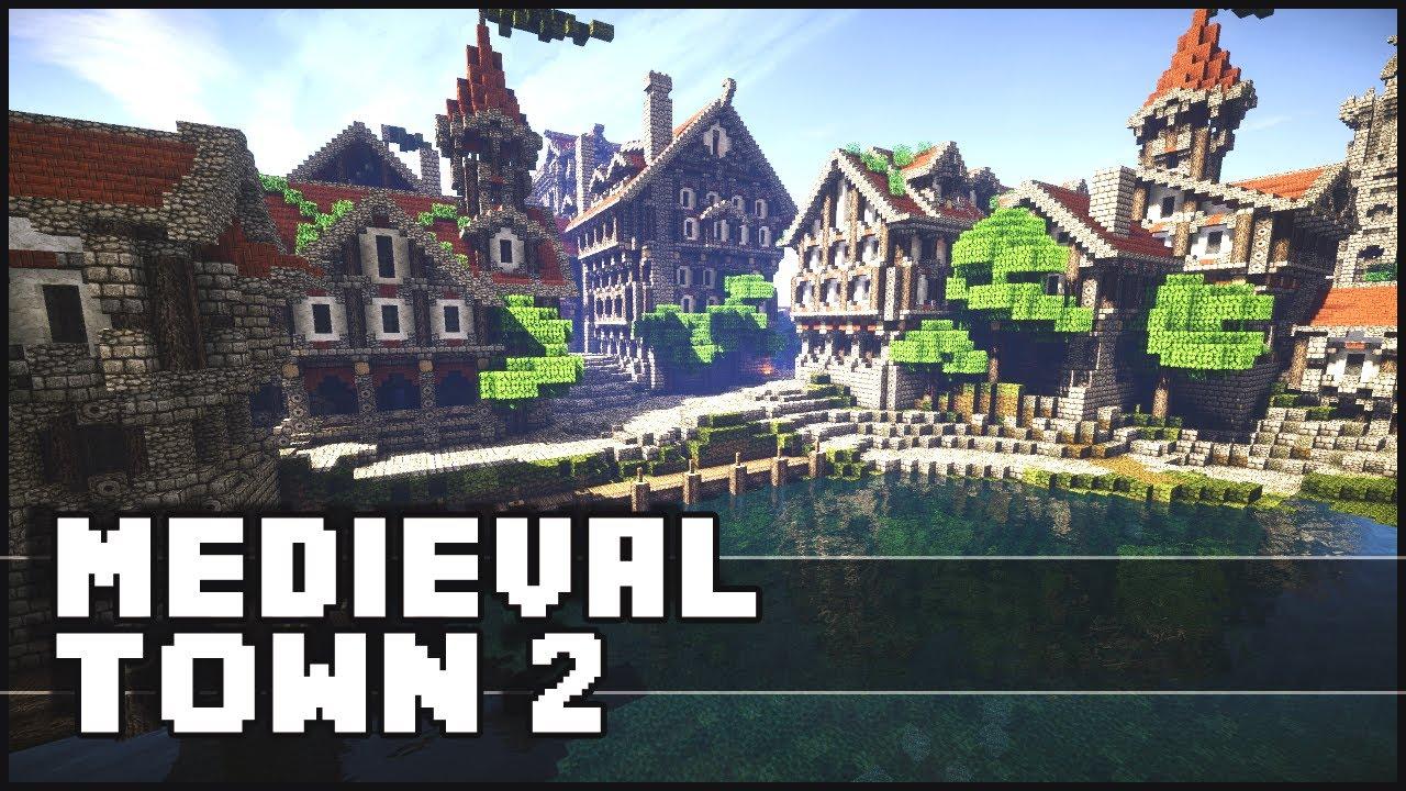 Medieval Christmas Buildings Minecraft