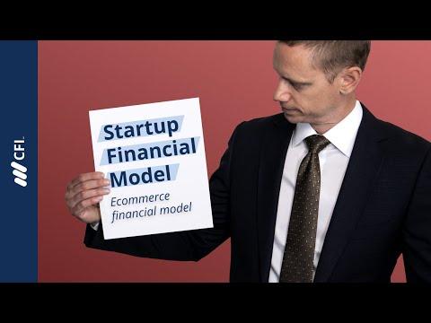 Startup / e-Commerce Financial Model