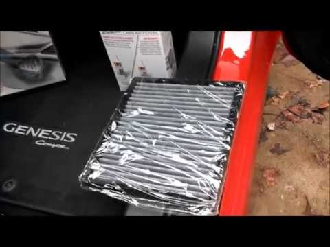K&N Cabin Air Filter Review And Install - Toyota Tacoma