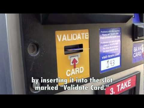 How To Use The RTC Ticket Vending Machine (TVM)