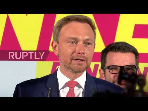 Germany: FDP's Lindner hails return of 'freedom' to parliament following elections
