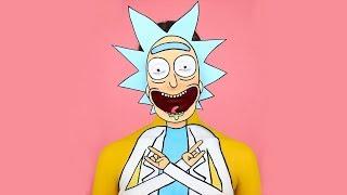 Maquillaje de Rick - Transformación